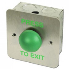 Asec Press To Exit Green Dome Button (Asec Press To Exit Green Dome Button) Grant Haze Hampshire Architectural Ironmongers and Builders Merchants