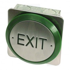 Asec All Active Small Push Plate Exit Button (Asec All Active Small Push Plate Exit Button) Grant Haze Hampshire Architectural Ironmongers and Builders Merchants
