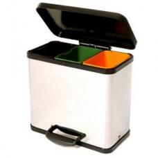 Triple Recycling Bin 33 Litres
