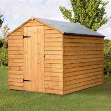 Contractor Overlap Shed