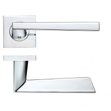 RMSQ020 - Lupus Lever - Screw on Rose (RMSQ020) Grant Haze Hampshire Architectural Ironmongers and Builders Merchants