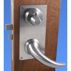 ANT19TTPL Anti-ligature horn lever (ANT19TTPL) Grant Haze Hampshire Architectural Ironmongers and Builders Merchants