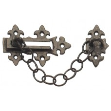 Black Antique Security Door Chain (FR47390) Grant Haze Hampshire Architectural Ironmongers and Builders Merchants