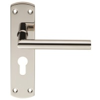 Steelworx Residential Mitred Lever on Backplate