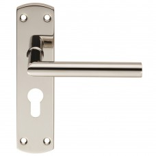 Steelworx Residential Mitred Lever on Backplate (CSLP1162) Grant Haze Hampshire Architectural Ironmongers and Builders Merchants