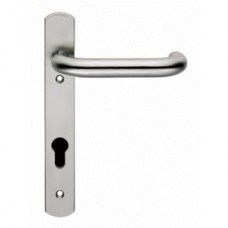 Steelworx 316 Narrow Plate Safety Lever (SWNP11) Grant Haze Hampshire Architectural Ironmongers and Builders Merchants