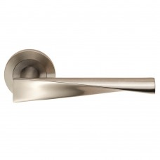 Steelworx SWL Brema Lever on Rose (SWL1122) Grant Haze Hampshire Architectural Ironmongers and Builders Merchants