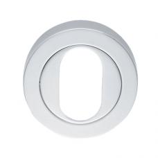 Designer Oval Escutcheon - AA2 (AA2) Grant Haze Hampshire Architectural Ironmongers and Builders Merchants