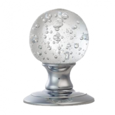 Ice Bubble Crystal Knob - AC013 (AC013) Grant Haze Hampshire Architectural Ironmongers and Builders Merchants