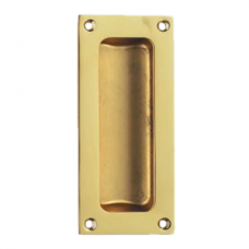 Classic Flush Pull - AQ90 (AQ90) Grant Haze Hampshire Architectural Ironmongers and Builders Merchants