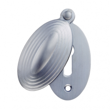 Delamain Stepped Oval Shaped Covered Escutcheon - DK6 (DK6) Grant Haze Hampshire Architectural Ironmongers and Builders Merchants