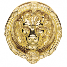 Large Lion Head Door Knocker - FG8XL