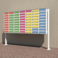 Free-standing Mailboxes  - (MAILBOXFREE)