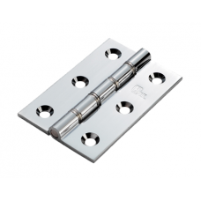 Double Stainless Steel Washered Brass Butt Hinge