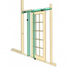 Hideaway Pocket  Door Kit - Hideaway (Hideaway) Grant Haze Hampshire Architectural Ironmongers and Builders Merchants