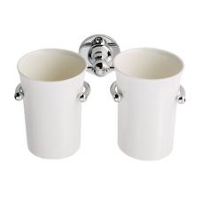Double Tumbler Holder With Tumblers - LE11 (LE11) Grant Haze Hampshire Architectural Ironmongers and Builders Merchants