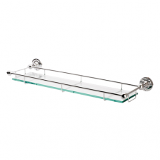 Gallery Rail Glass Shelf - LE30 (LE30) Grant Haze Hampshire Architectural Ironmongers and Builders Merchants