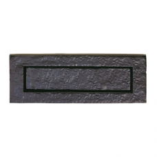 Traditional Black Antique Letter Plate - LF5524