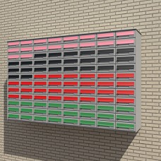 Wall mounted Mailboxes  - (MAILBOXWALL)