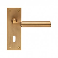 Amiata Lever on Backplate Lock EUL041 (EUL041) Grant Haze Hampshire Architectural Ironmongers and Builders Merchants