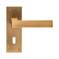 Sasso Lever on Backplate Lock EUL011 (EUL011) Grant Haze Hampshire Architectural Ironmongers and Builders Merchants