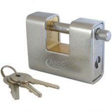 Steel Sliding Shackle Padlock 90mm - PAD770 (PAD770) Grant Haze Hampshire Architectural Ironmongers and Builders Merchants
