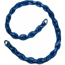10mm x 1.5 Metre Blue Sleeved Security Chain - CHAINSEC