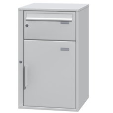 DAD P-2 Secured delivery parcel box with intergrated mailbox